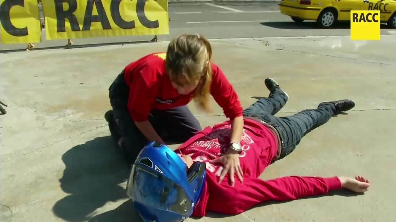 Primeros auxilios en accidentes de tráfico, por RACC